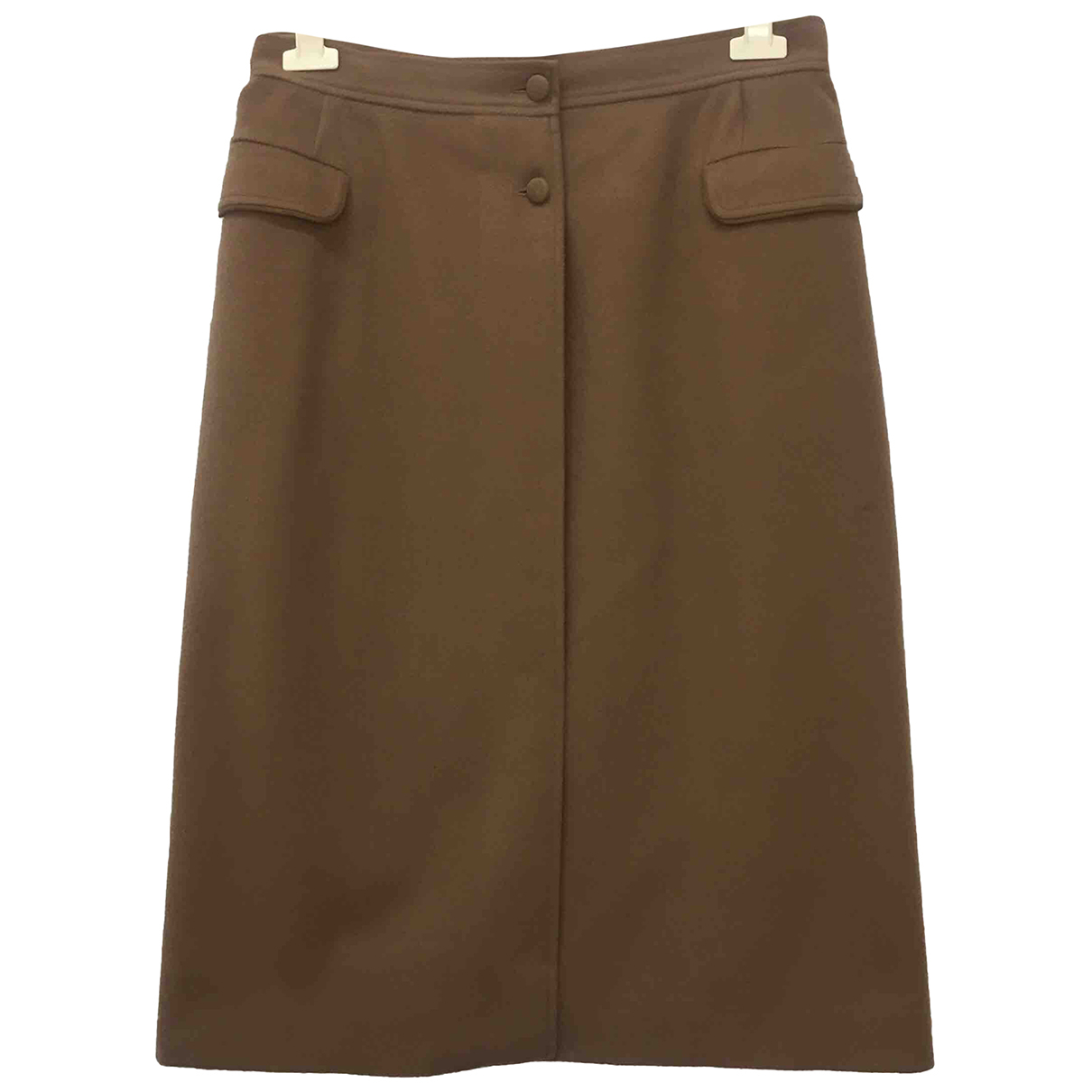 Gucci N Camel Cashmere skirt for Women 46 IT