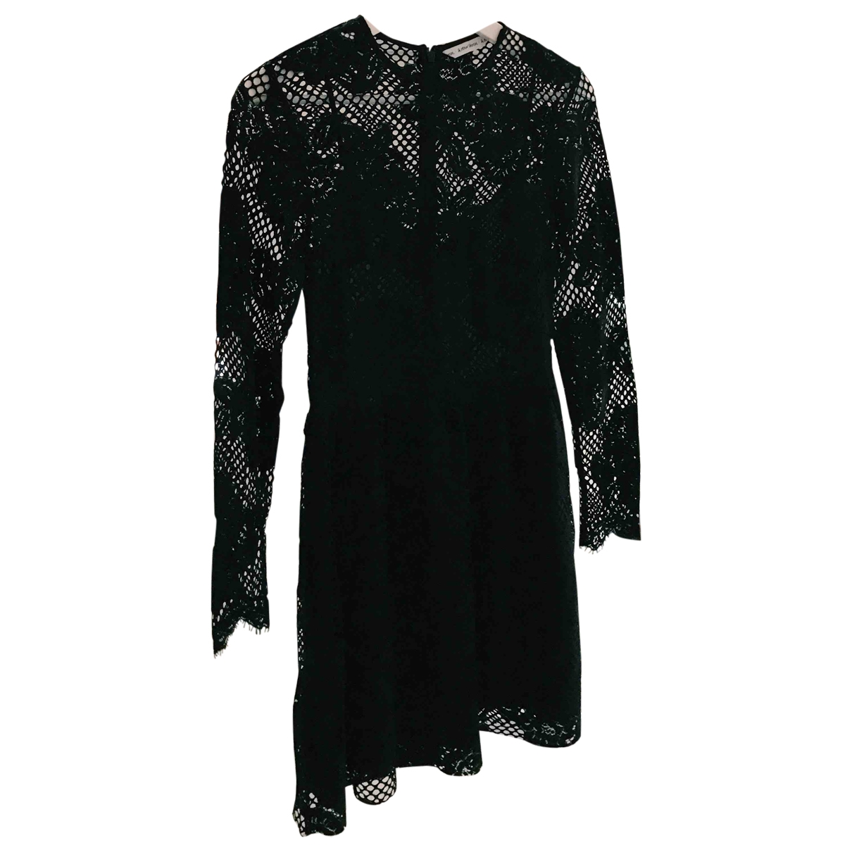 & Other Stories - Robe   pour femme en dentelle - noir