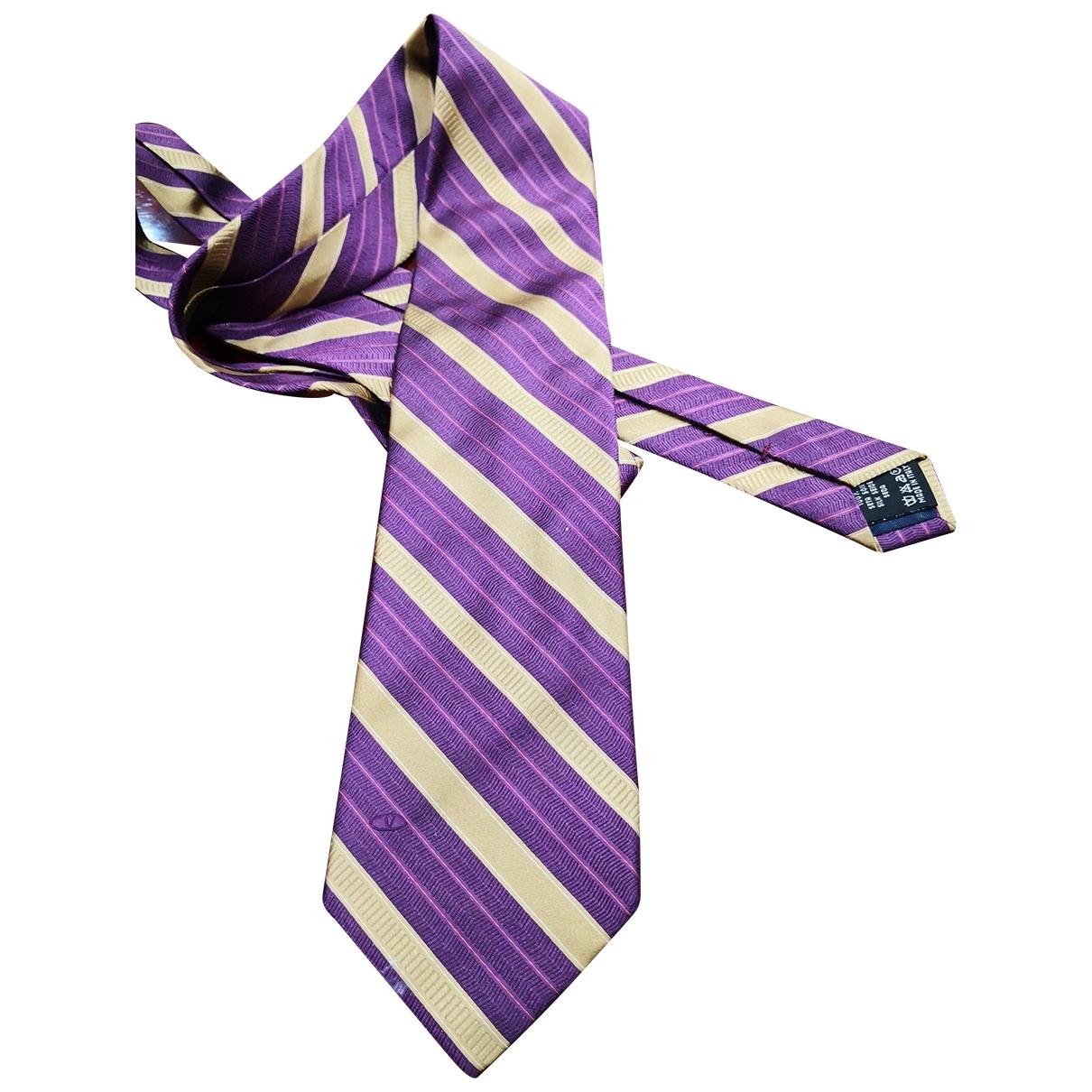 Valentino Garavani - Cravates   pour homme en soie - beige