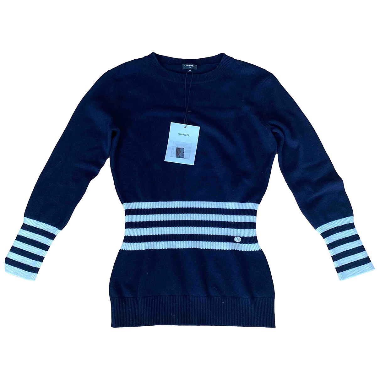 Chanel \N Blue Cashmere Knitwear for Women 42 FR