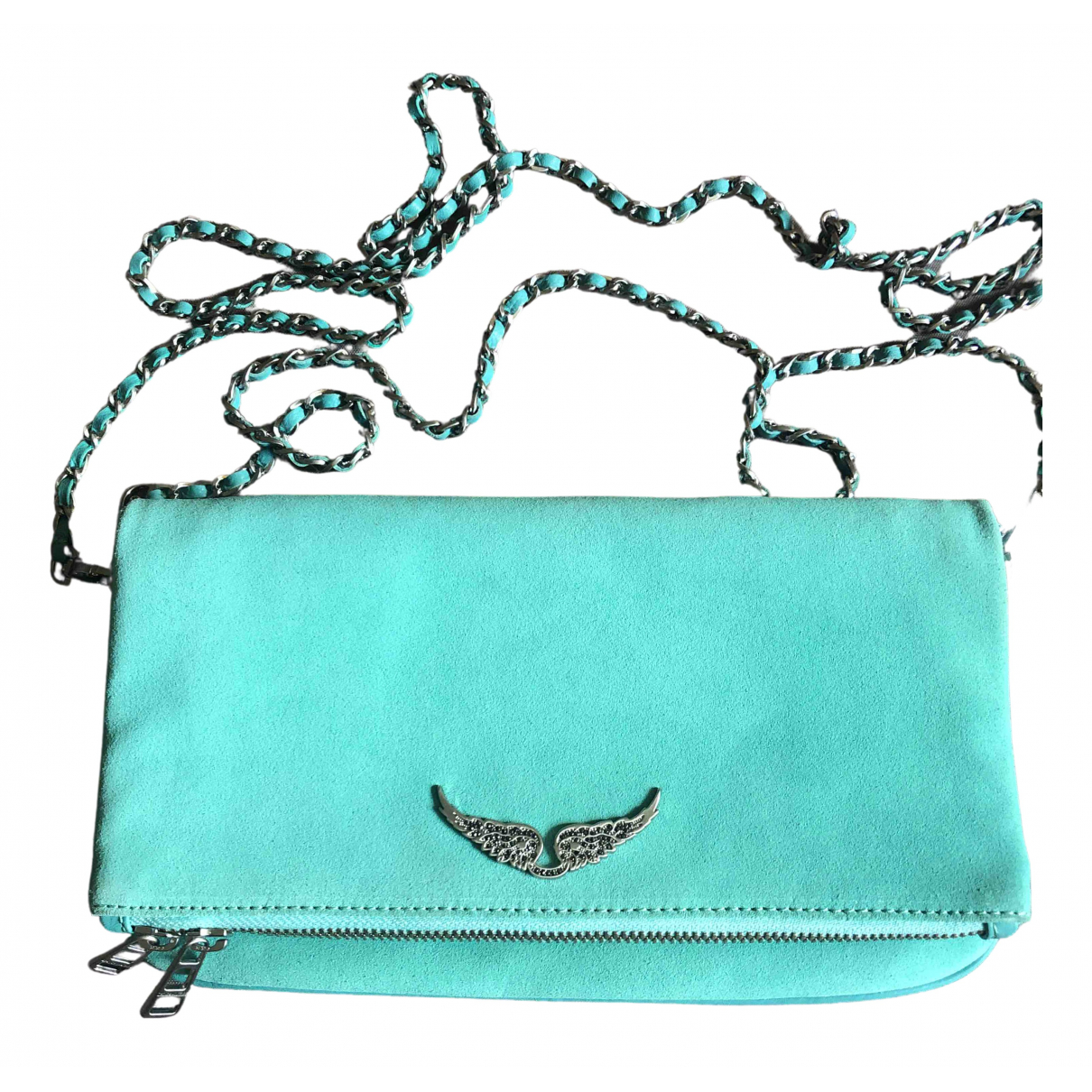 Zadig & Voltaire Spring Summer 2019 Turquoise Leather handbag for Women \N