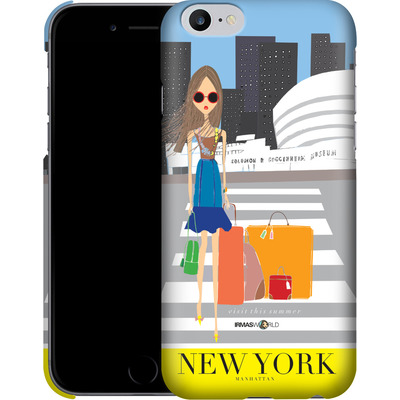 Apple iPhone 6 Plus Smartphone Huelle - NEW YORK TRAVEL POSTER von IRMA