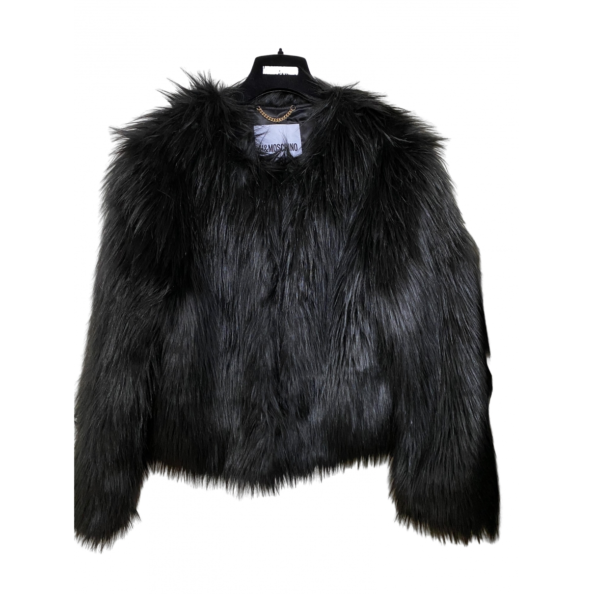 Moschino For H&m \N Black Faux fur jacket for Women S International