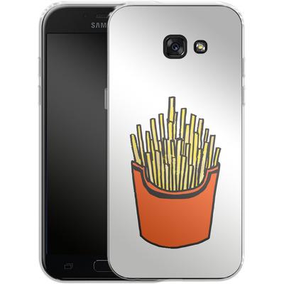 Samsung Galaxy A5 (2017) Silikon Handyhuelle - Fries von caseable Designs