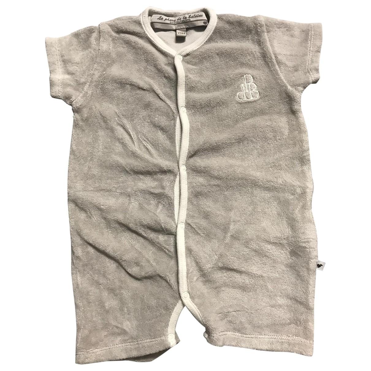- Les ensembles   pour enfant en coton - gris