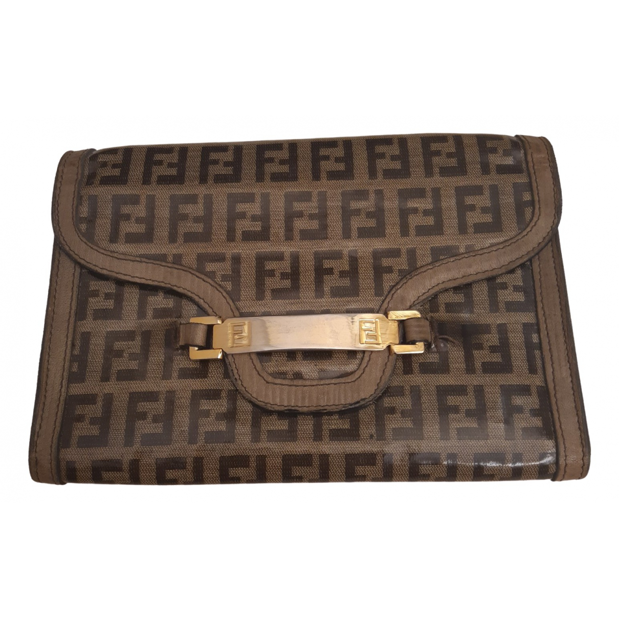 Fendi \N Camel Cloth Purses, wallet & cases for Women \N