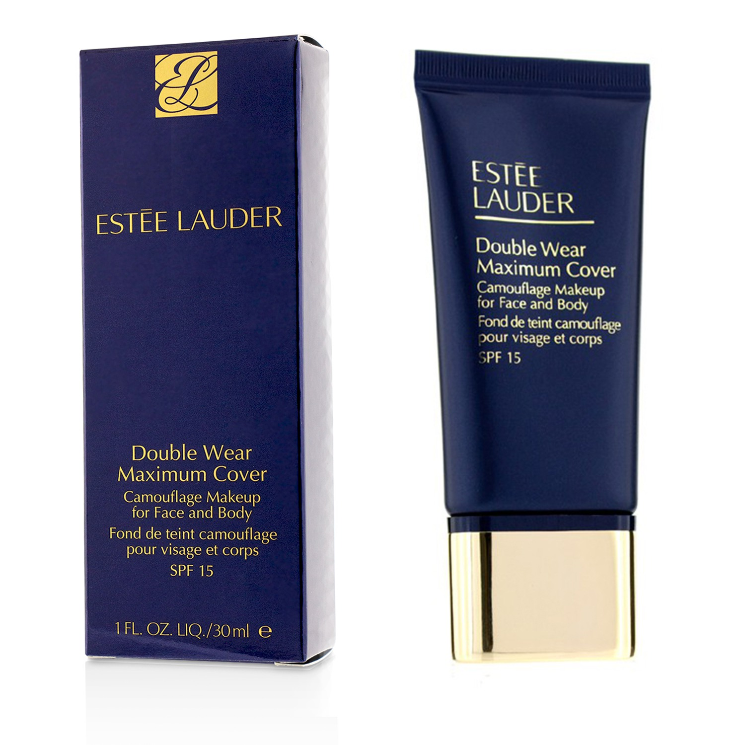 Double Wear - Maximum Cover Camouflage Makeup for Face and Body SPF 15 - 3C4 Medium/Deep