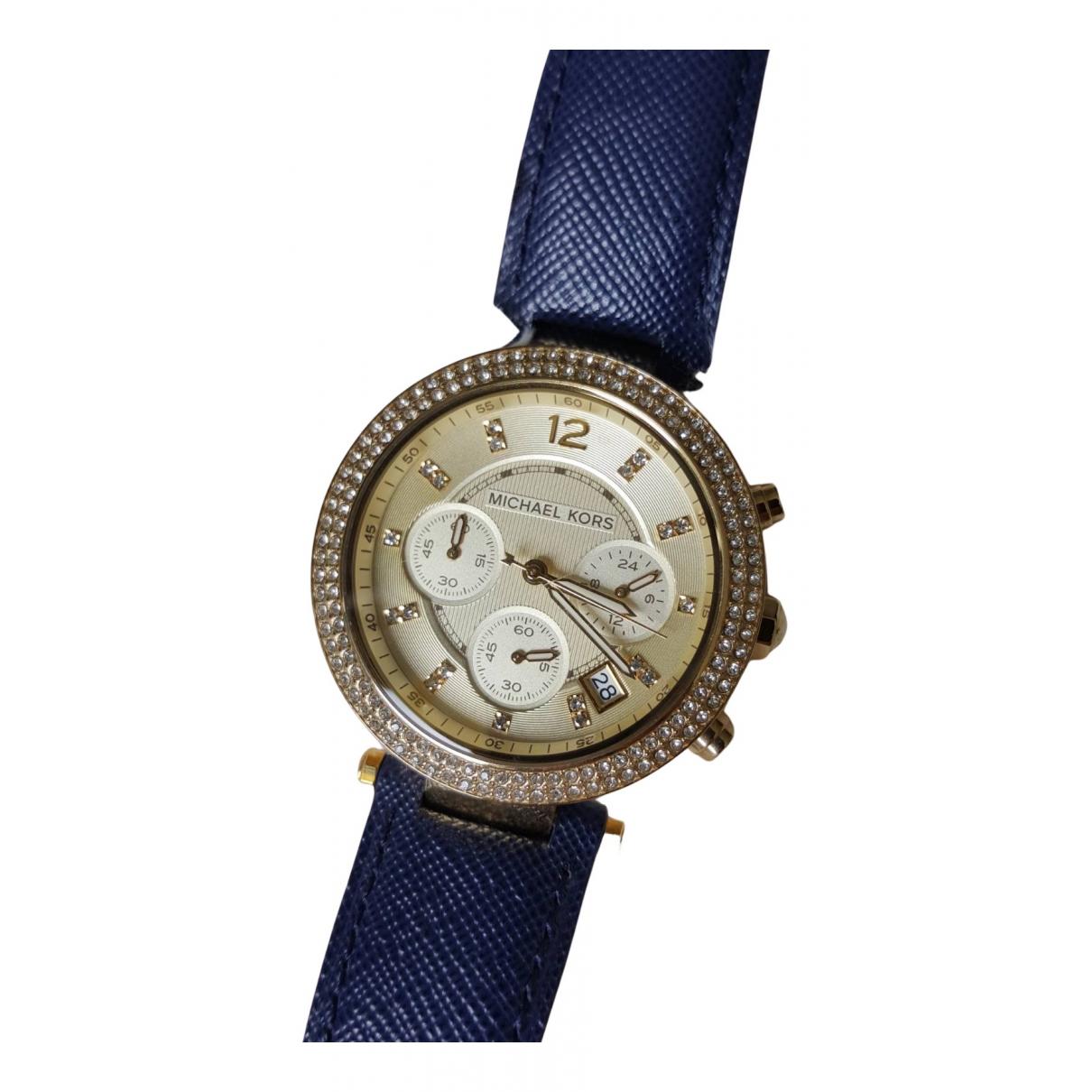 Michael Kors N Navy Steel watch for Women N