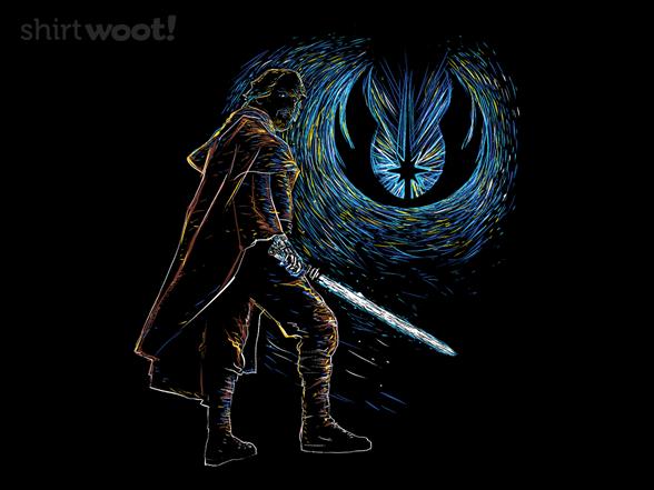 Starry Knight Of Light T Shirt