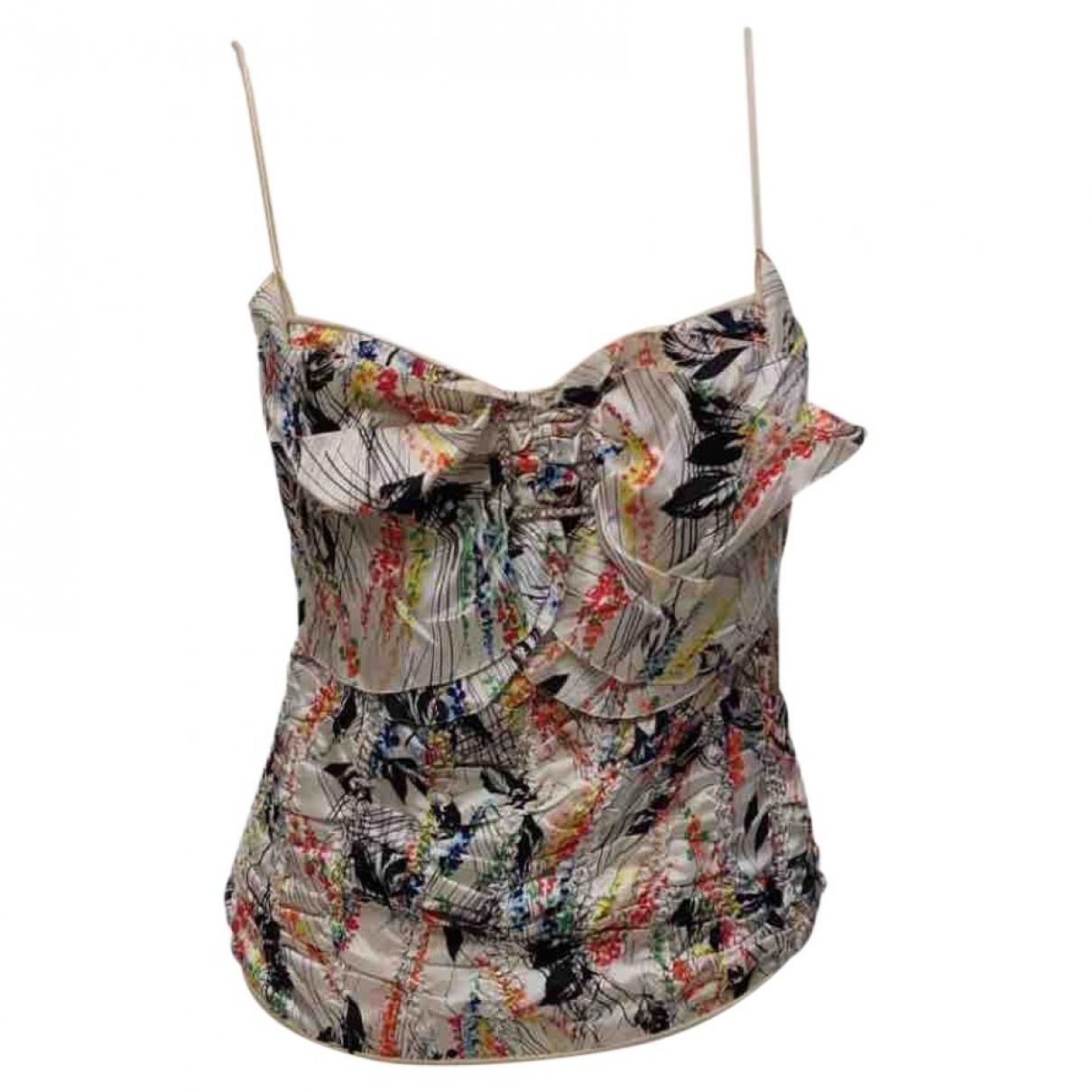 Galliano \N Multicolour Silk  top for Women 38 FR