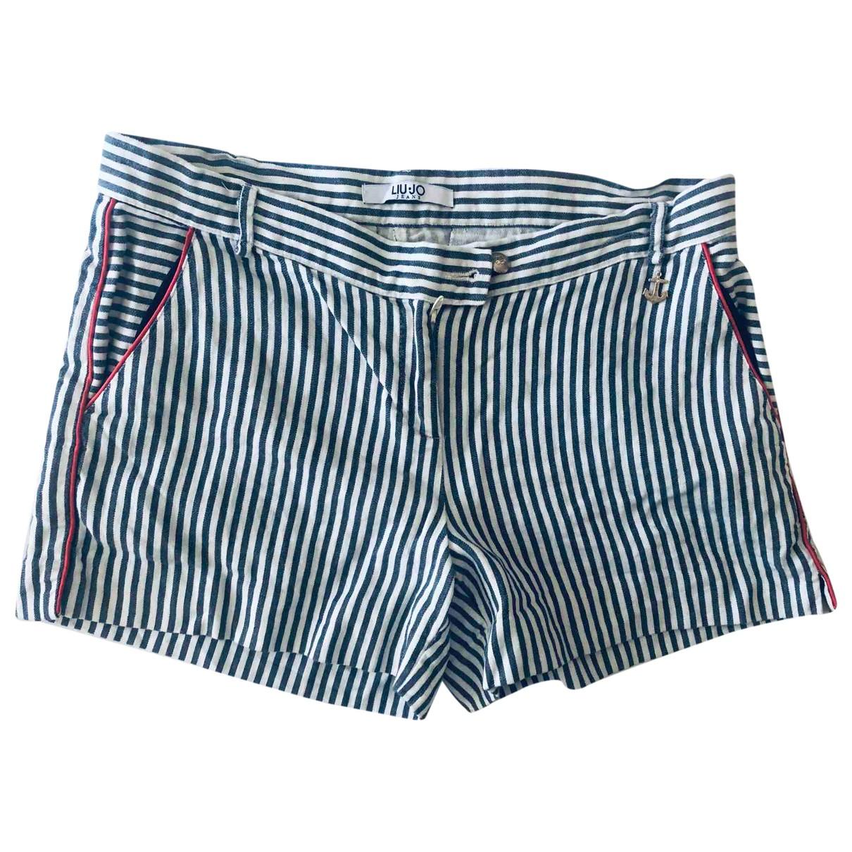 Liu.jo \N Shorts in  Blau Baumwolle