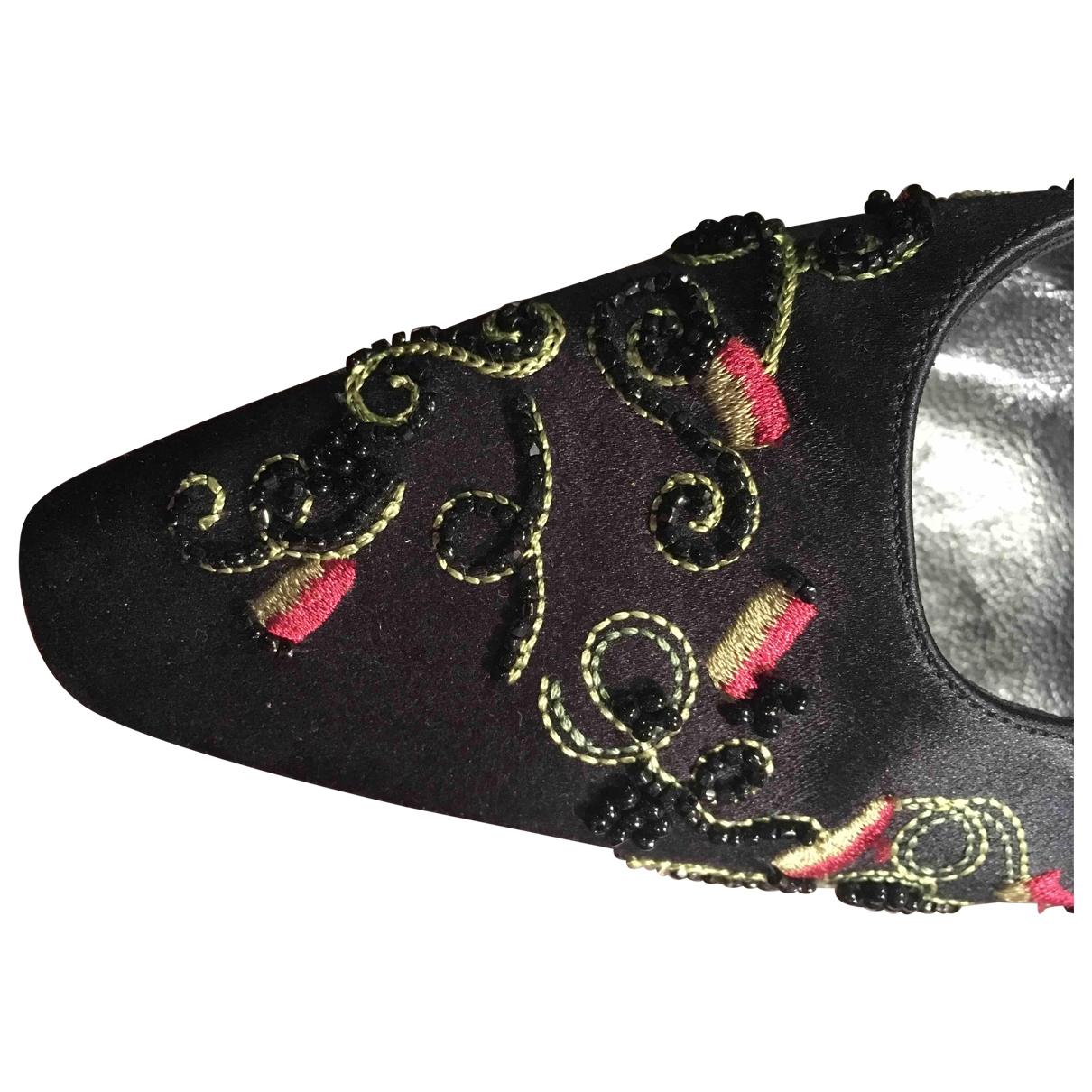 Jimmy Choo - Escarpins   pour femme en cuir - noir