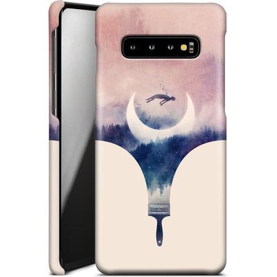Samsung Galaxy S10 Plus Smartphone Huelle - Fleeting Moments Wide von Enkel Dika