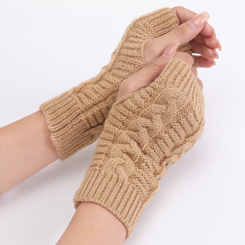 Ericdress Acrylic Plain Fall Gloves
