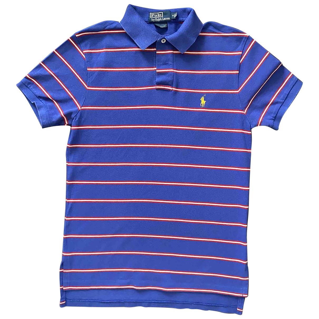 Polo Ralph Lauren - Polos Polo Rugby manches courtes pour homme en coton - bleu