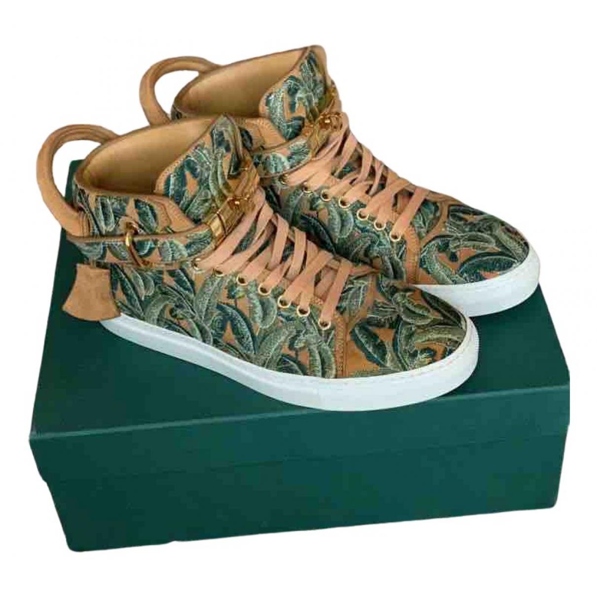 Buscemi \N Sneakers in  Gruen Leder
