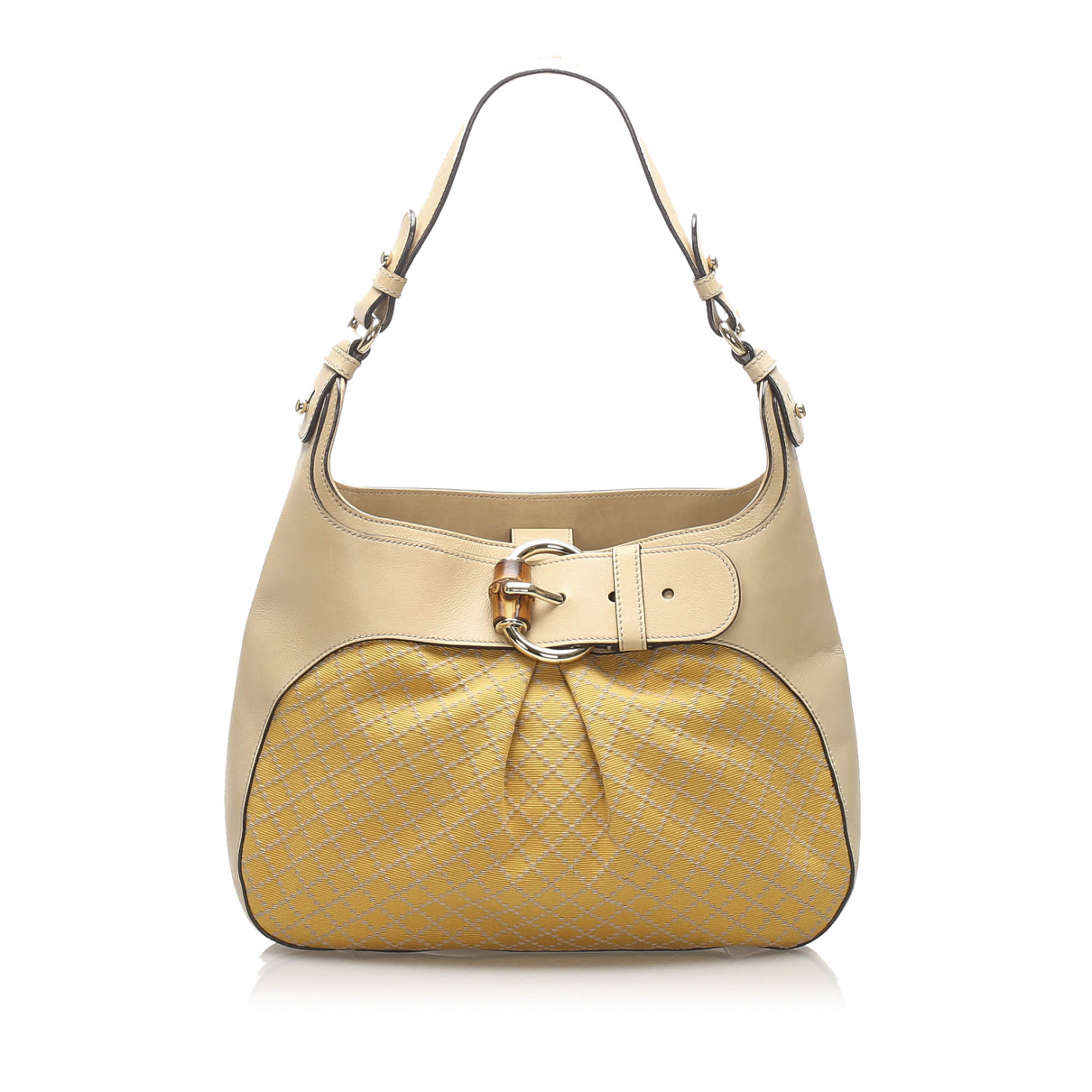 Gucci N Yellow Cloth handbag for Women N