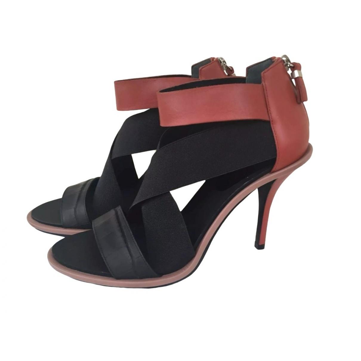 Balenciaga - Sandales   pour femme en cuir - multicolore