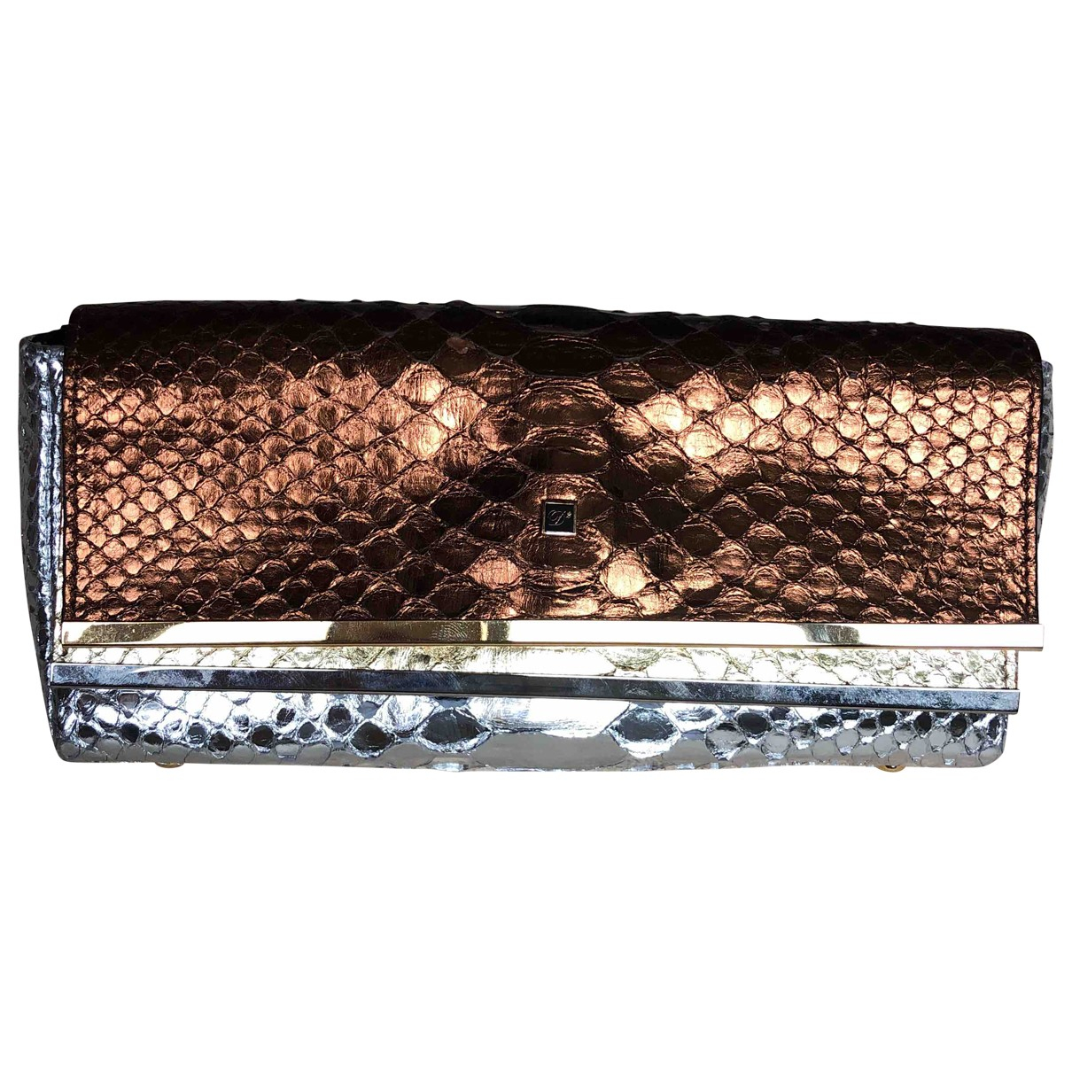 Dsquared2 \N Clutch in  Bunt Python