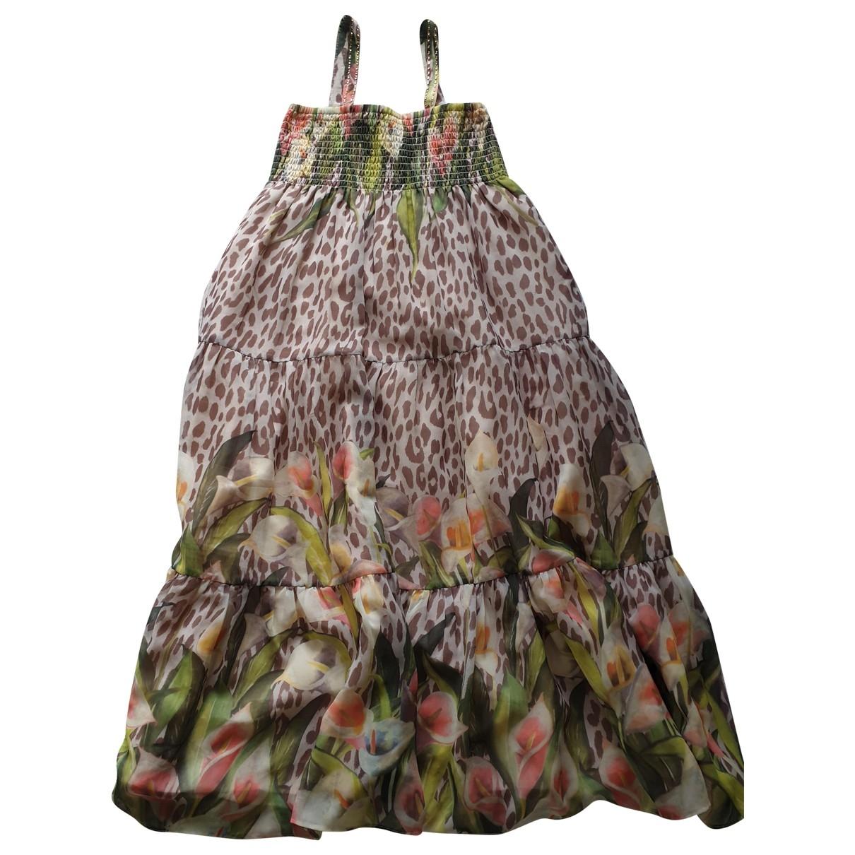 Blumarine \N Kleid in  Bunt Polyester