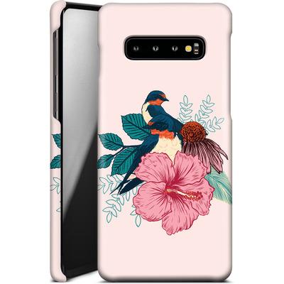 Samsung Galaxy S10 Plus Smartphone Huelle - Barn Swallows von Mat Miller