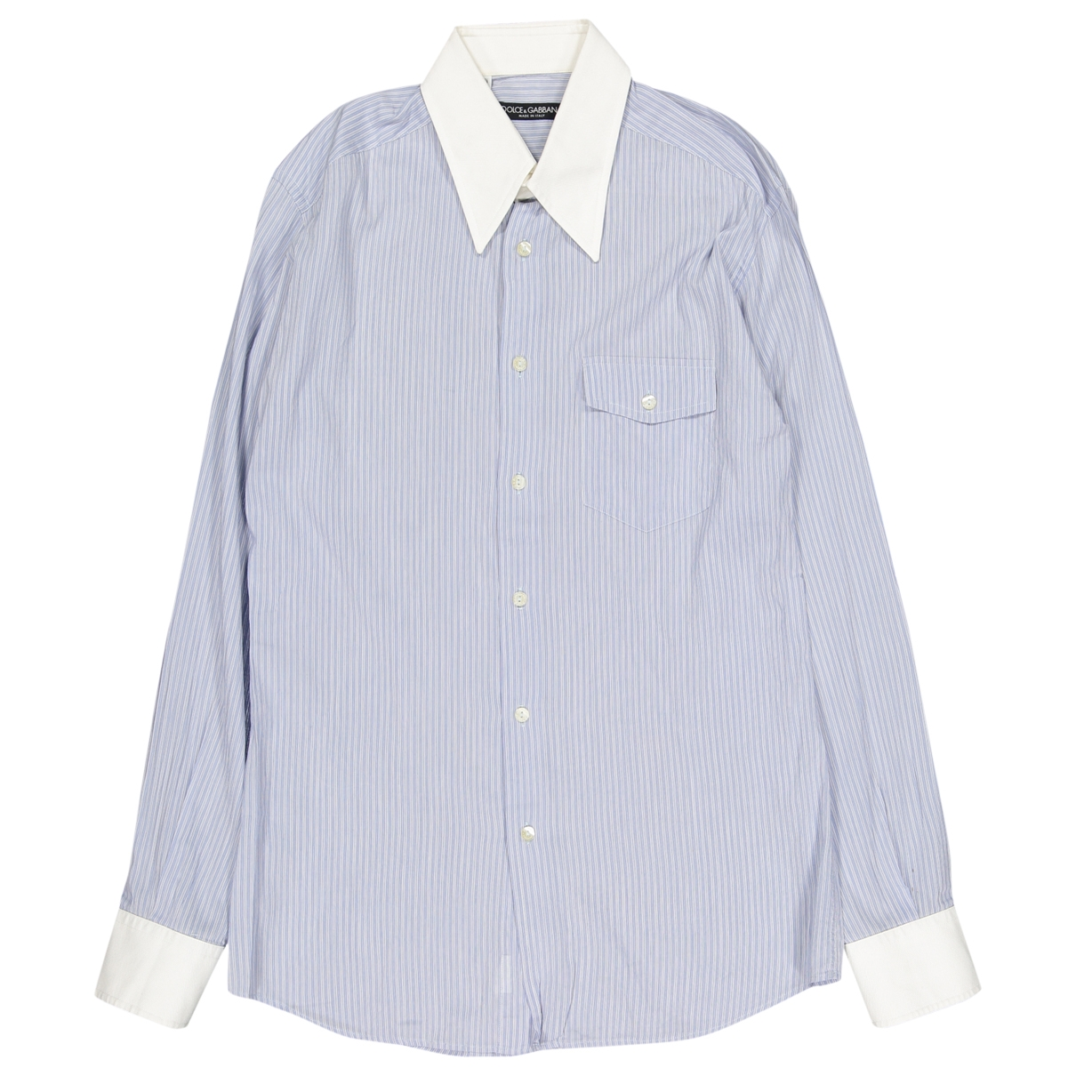 Dolce & Gabbana \N Hemden in  Blau Baumwolle