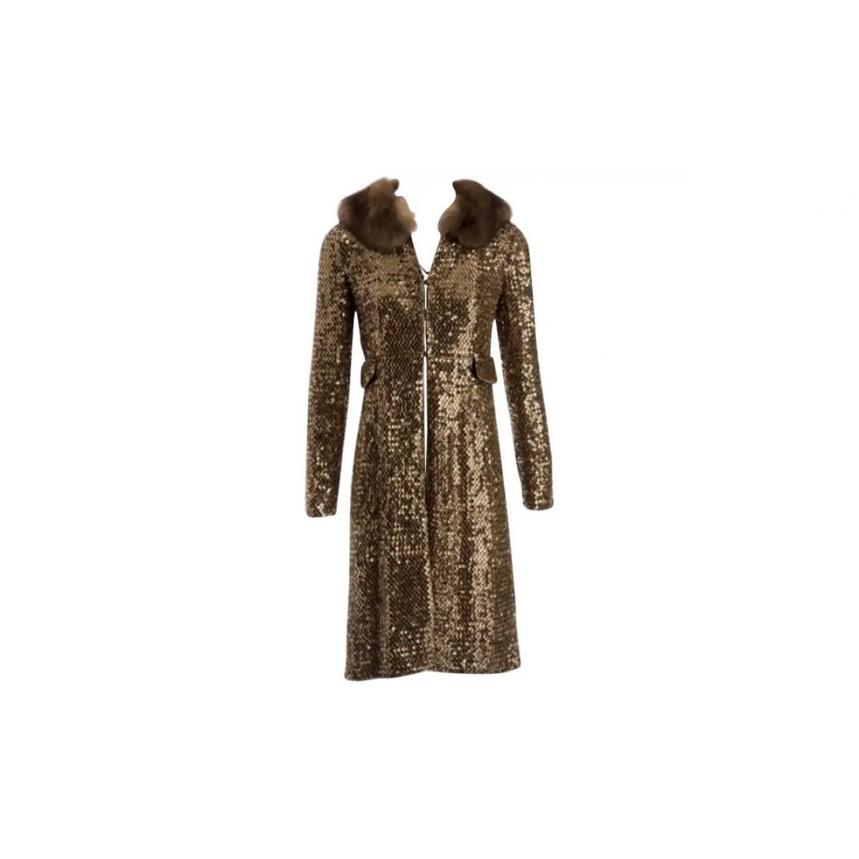 Dolce & Gabbana - Manteau   pour femme - dore