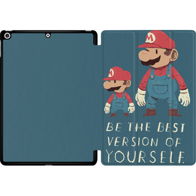 Apple iPad 9.7 (2017) Tablet Smart Case - Be The Best Version of Yourself von Louis Ros
