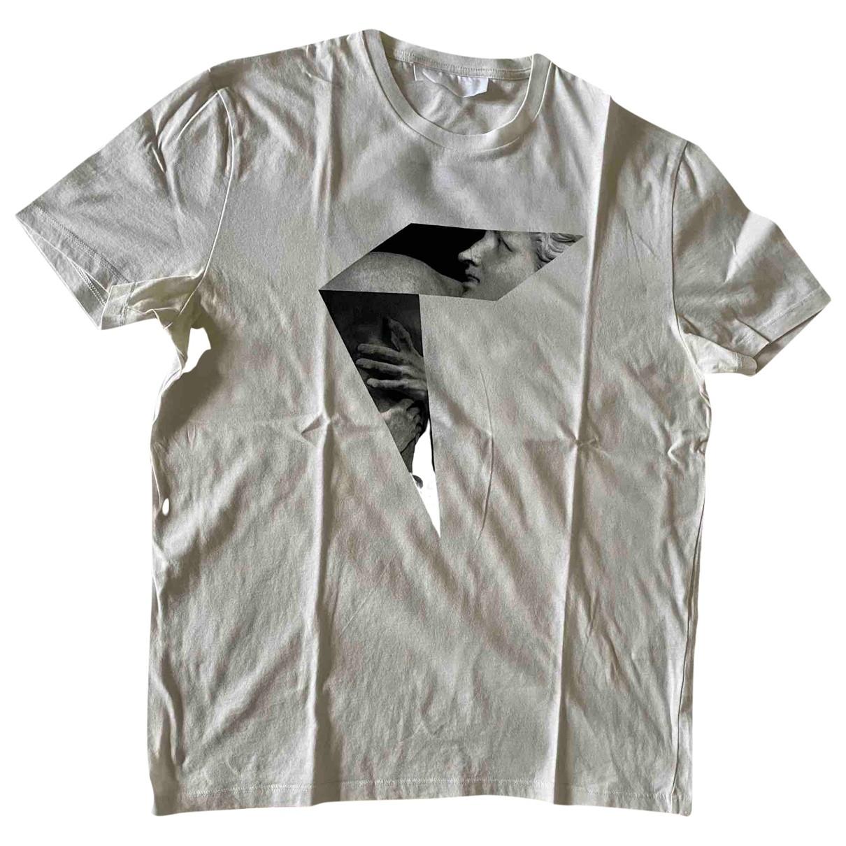 Neil Barrett - Tee shirts   pour homme en coton - blanc