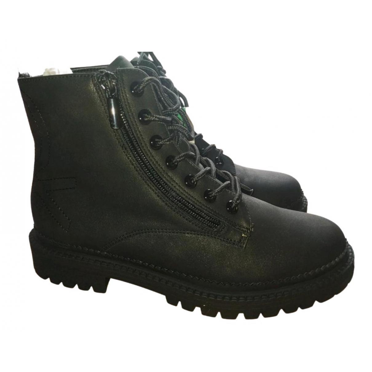 Benetton \N Black Boots for Women 38 EU