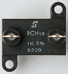 Vishay RCH25 Series S06 Screw Termination Thick Film Panel Mount Resistor, 4.7kΩ ±5% 25W
