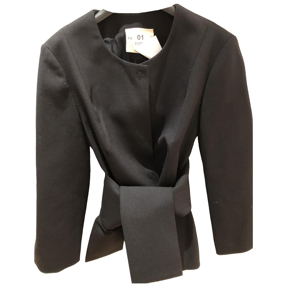 Erika Cavallini - Veste   pour femme en laine - noir