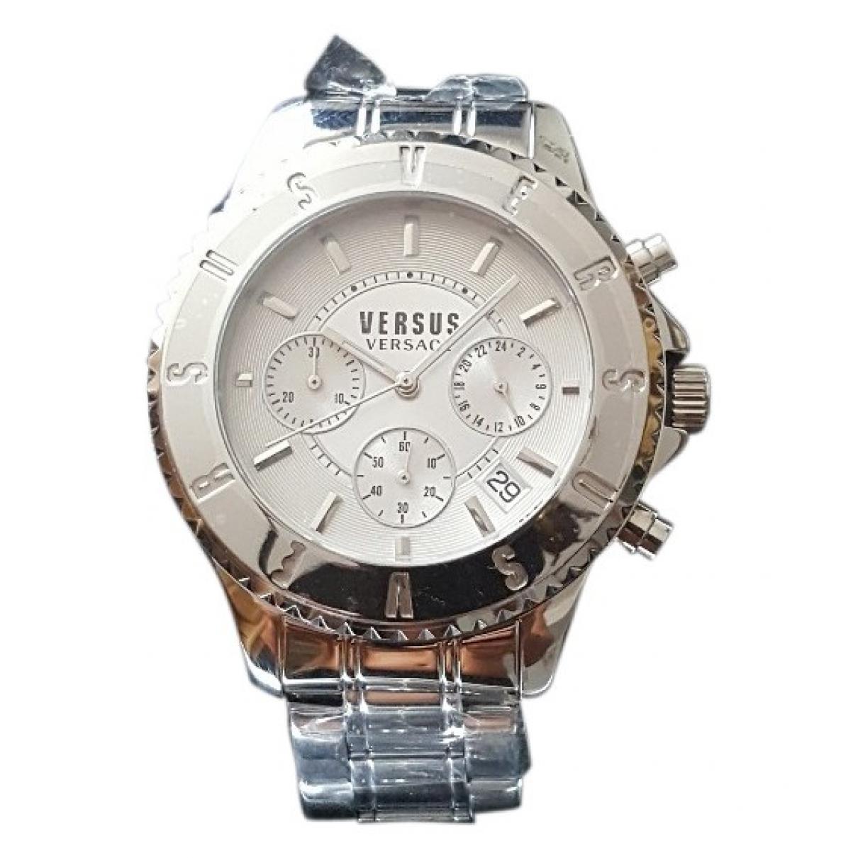 Versus \N White Steel watch for Men \N