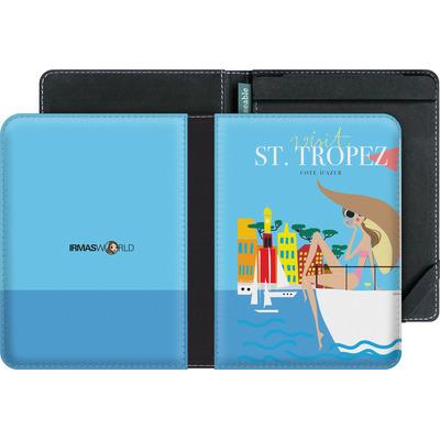 tolino vision 3 HD eBook Reader Huelle - ST TROPEZ TRAVEL POSTER von IRMA