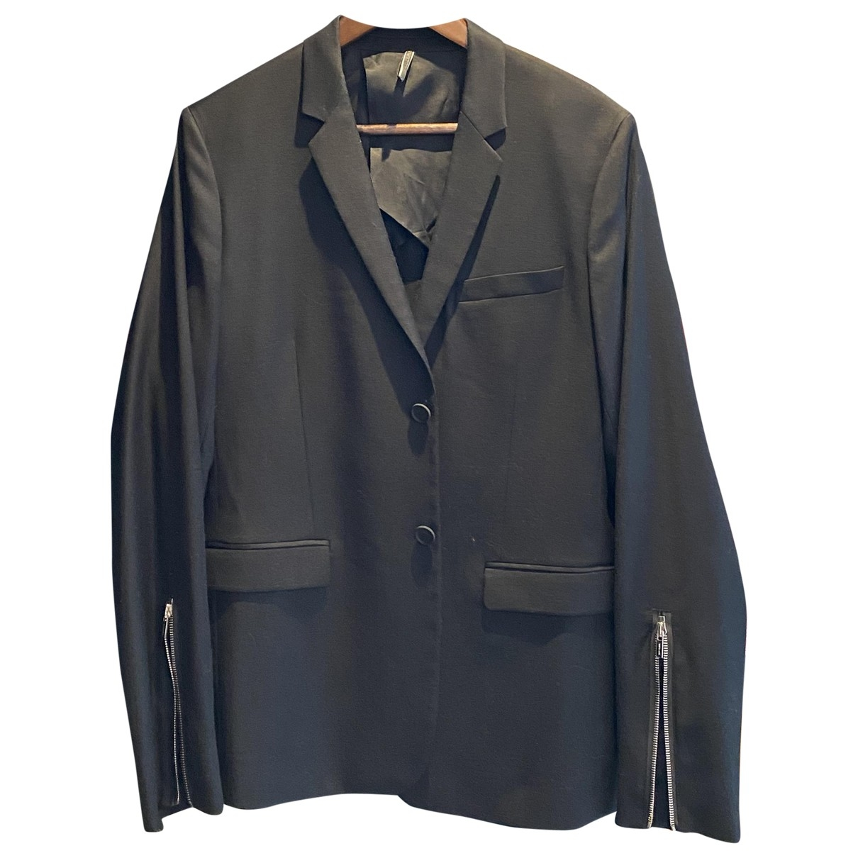 Dior Homme \N Black Wool jacket  for Men 48 FR