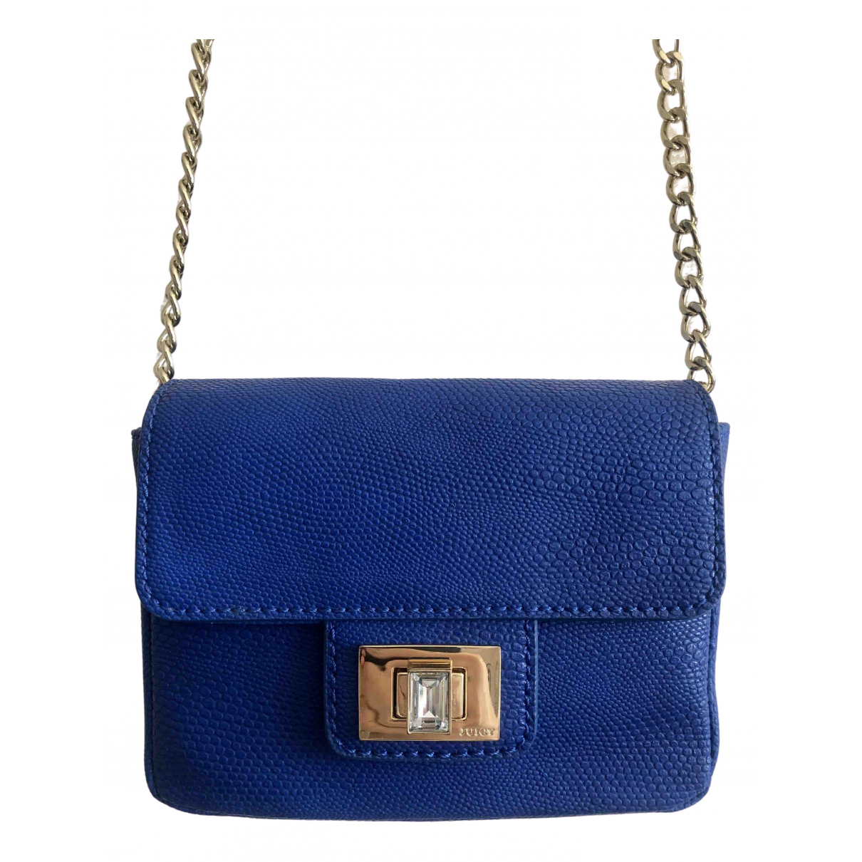 Bolsos clutch en Poliester Azul Juicy Couture