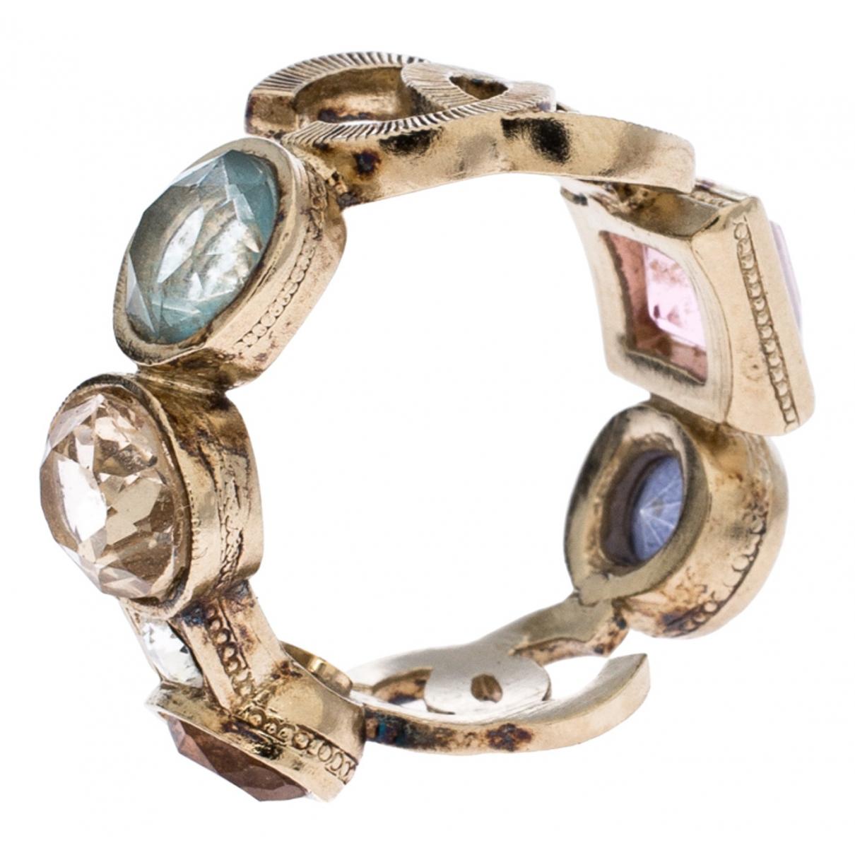 Chanel - Bague   pour femme en cristal - multicolore