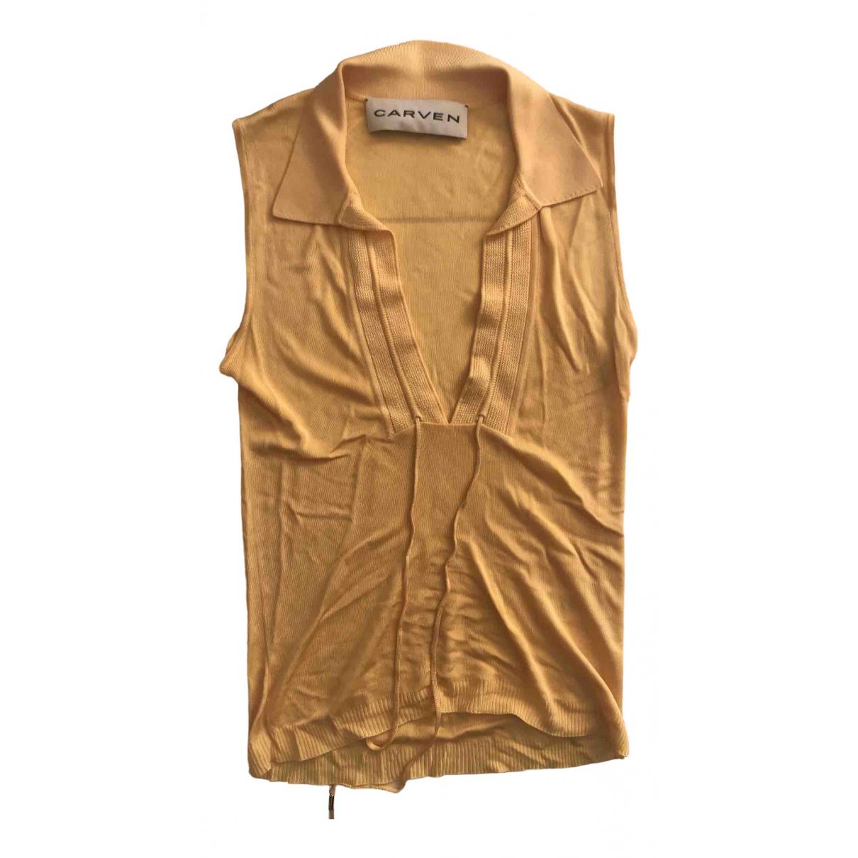 Carven N Orange  top for Women XS International