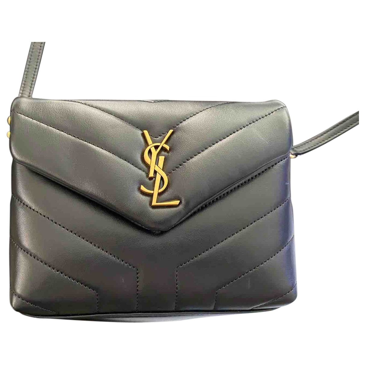 Saint Laurent Loulou Black Leather handbag for Women \N