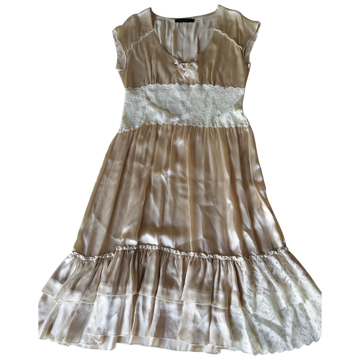 Twin Set \N White Silk dress for Women S International