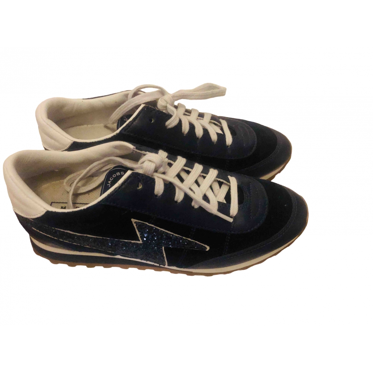 Marc Jacobs \N Blue Velvet Trainers for Women 36 EU