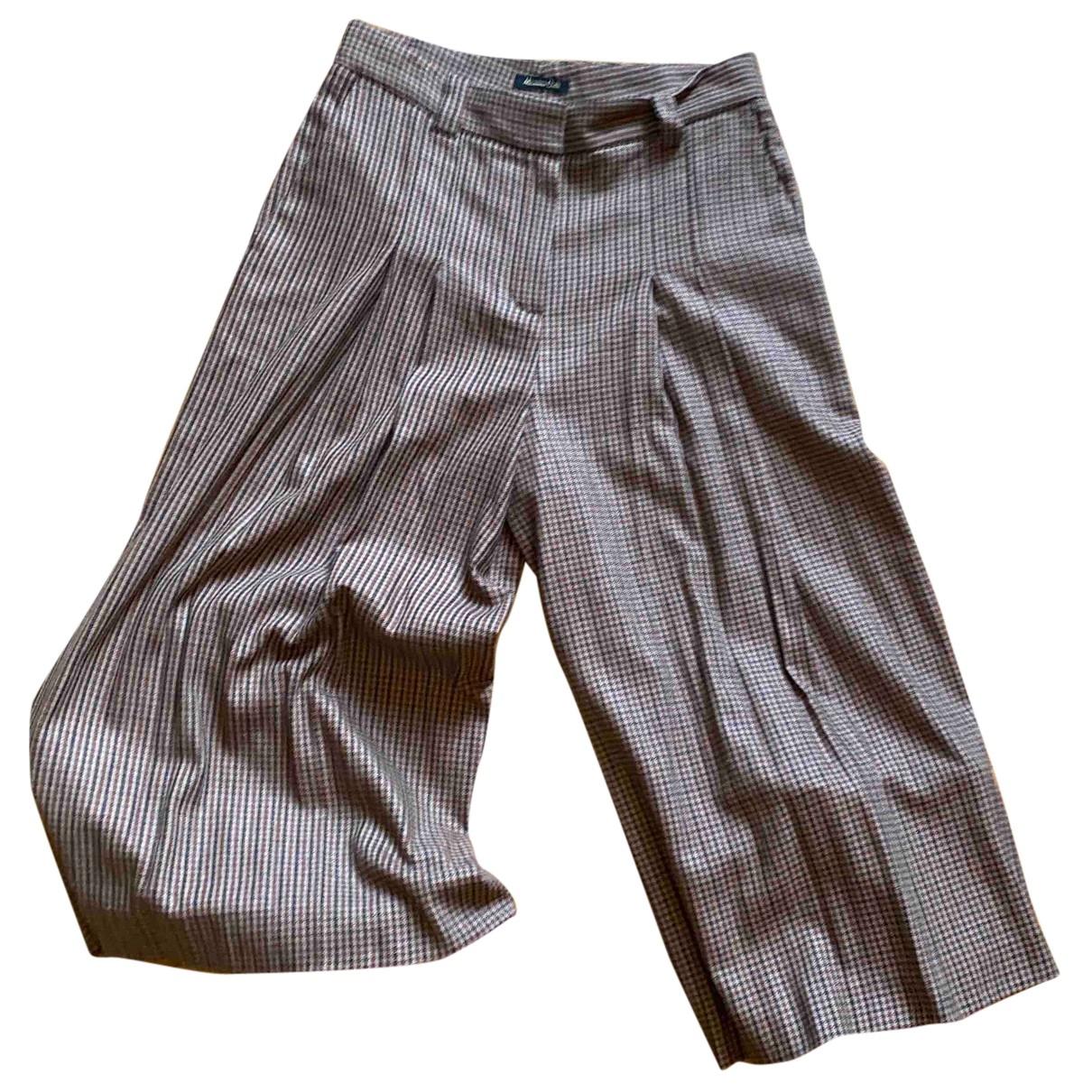 Massimo Dutti \N Rocke in  Braun Wolle