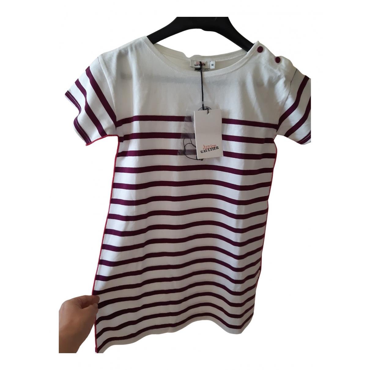 Jean Paul Gaultier - Robe    pour enfant en coton - blanc