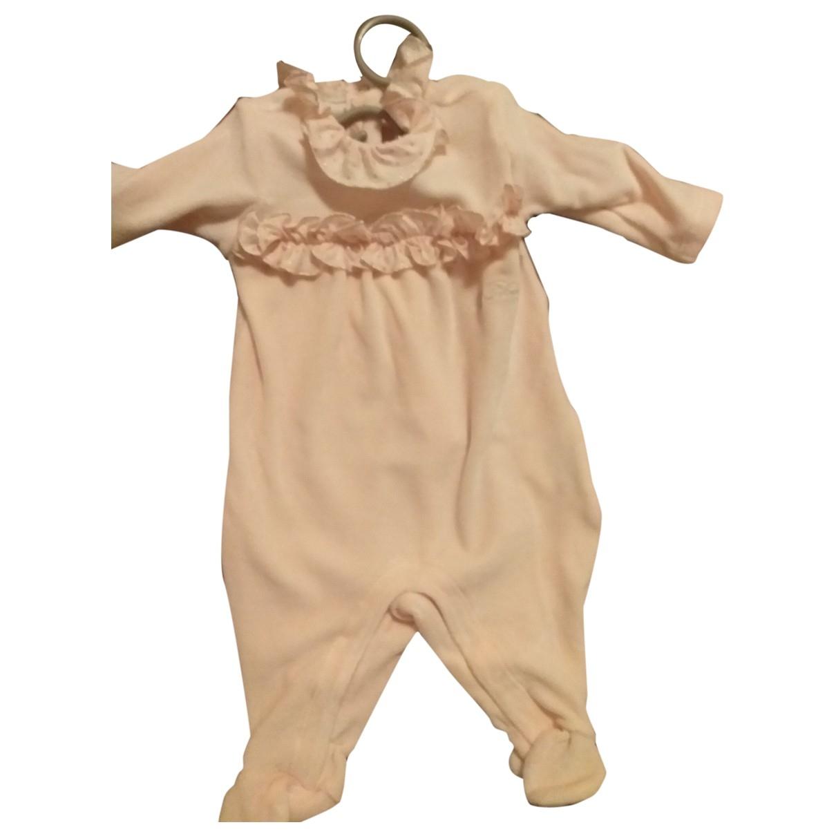 Blumarine - Robe    pour enfant en coton - rose