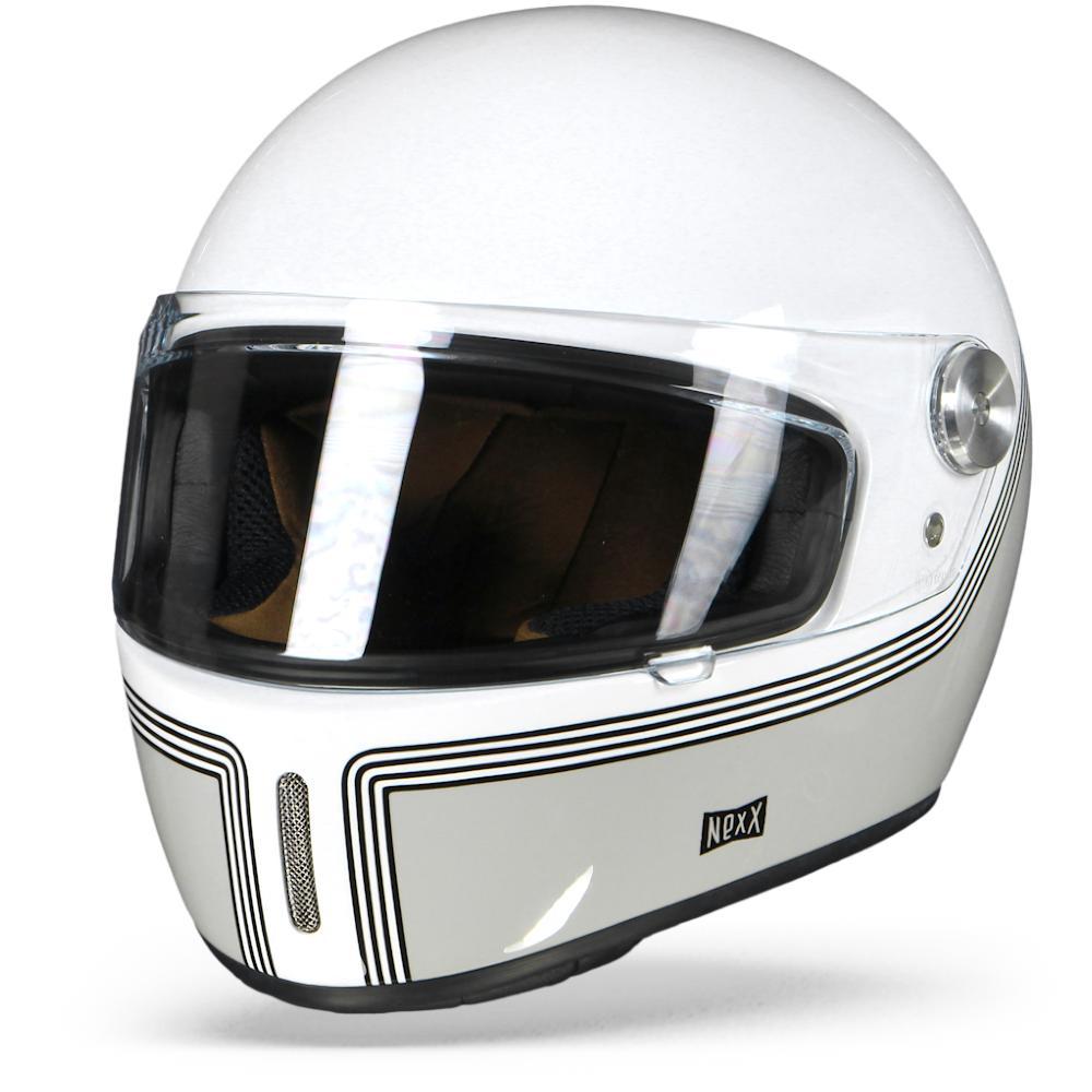 Nexx X.G100R Motordrome Casco Integral Blanco XL