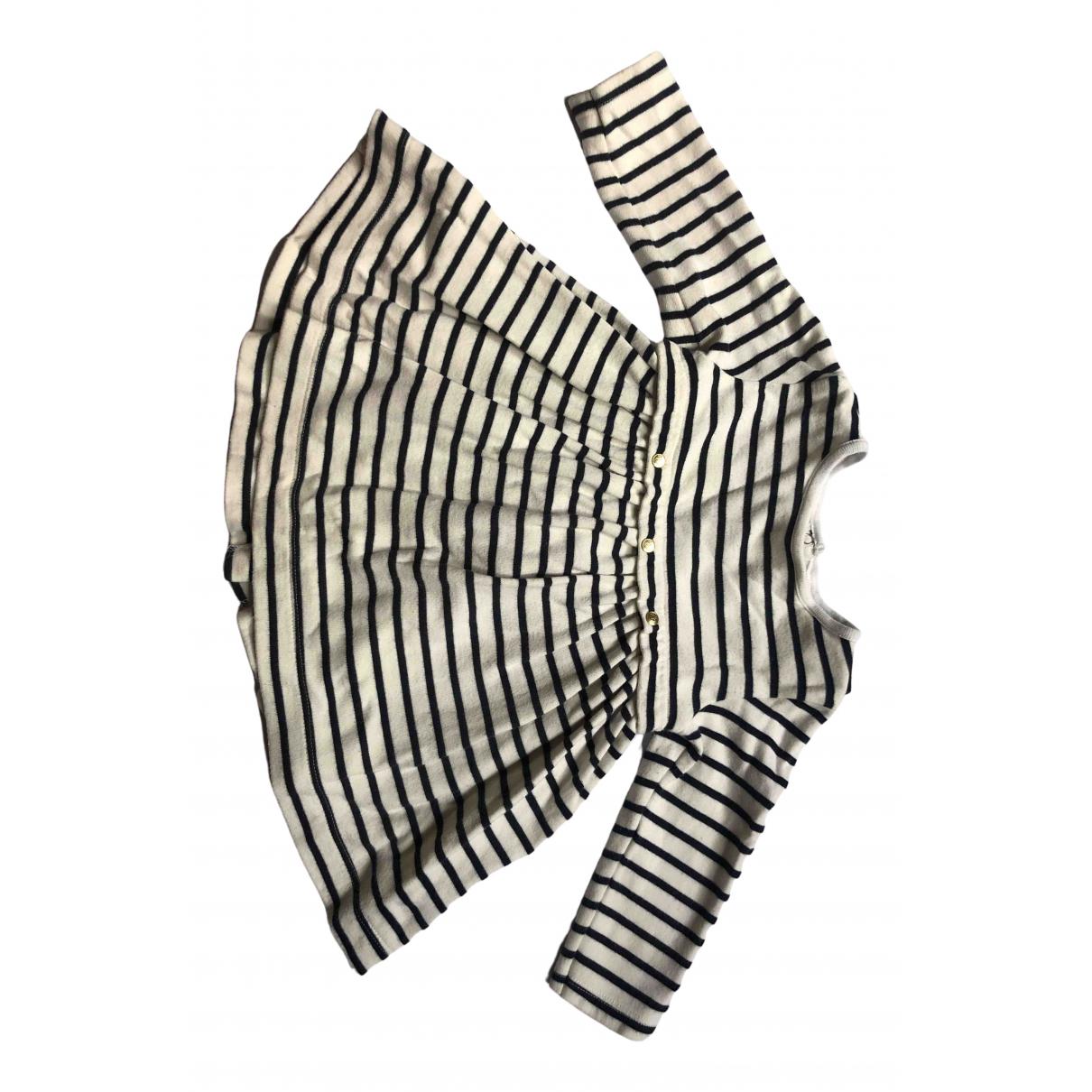Petit Bateau \N Navy Cotton dress for Kids 12 months - up to 74cm FR