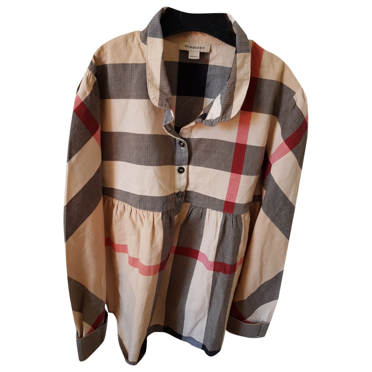 Burberry \N Multicolour Cotton  top for Kids 12 years - XS FR