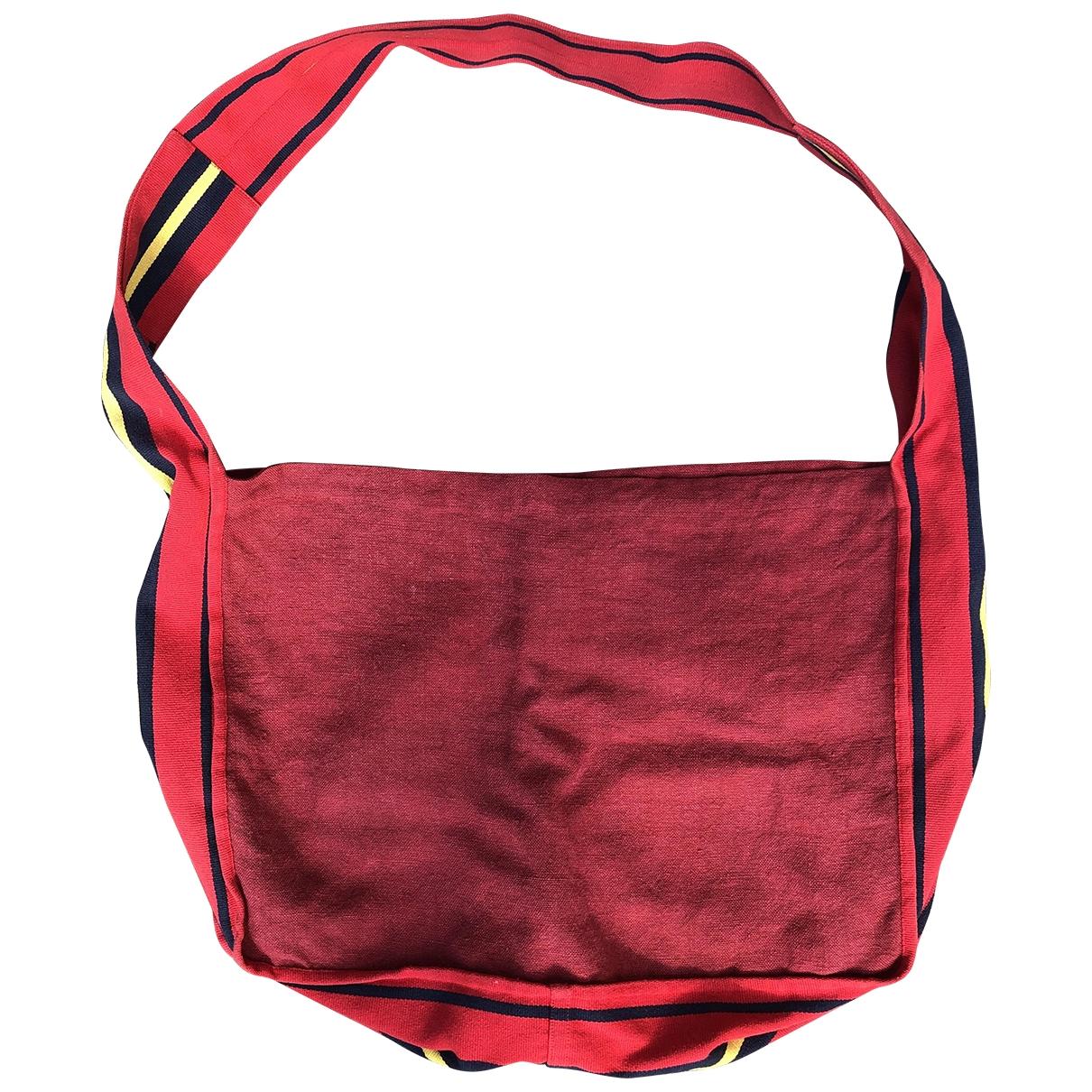 Dries Van Noten \N Taschen in  Rot Baumwolle