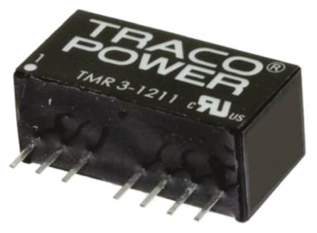TRACOPOWER TMR 3HI 3W Isolated DC-DC Converter Through Hole, Voltage in 9 → 18 V dc, Voltage out 3.3V dc