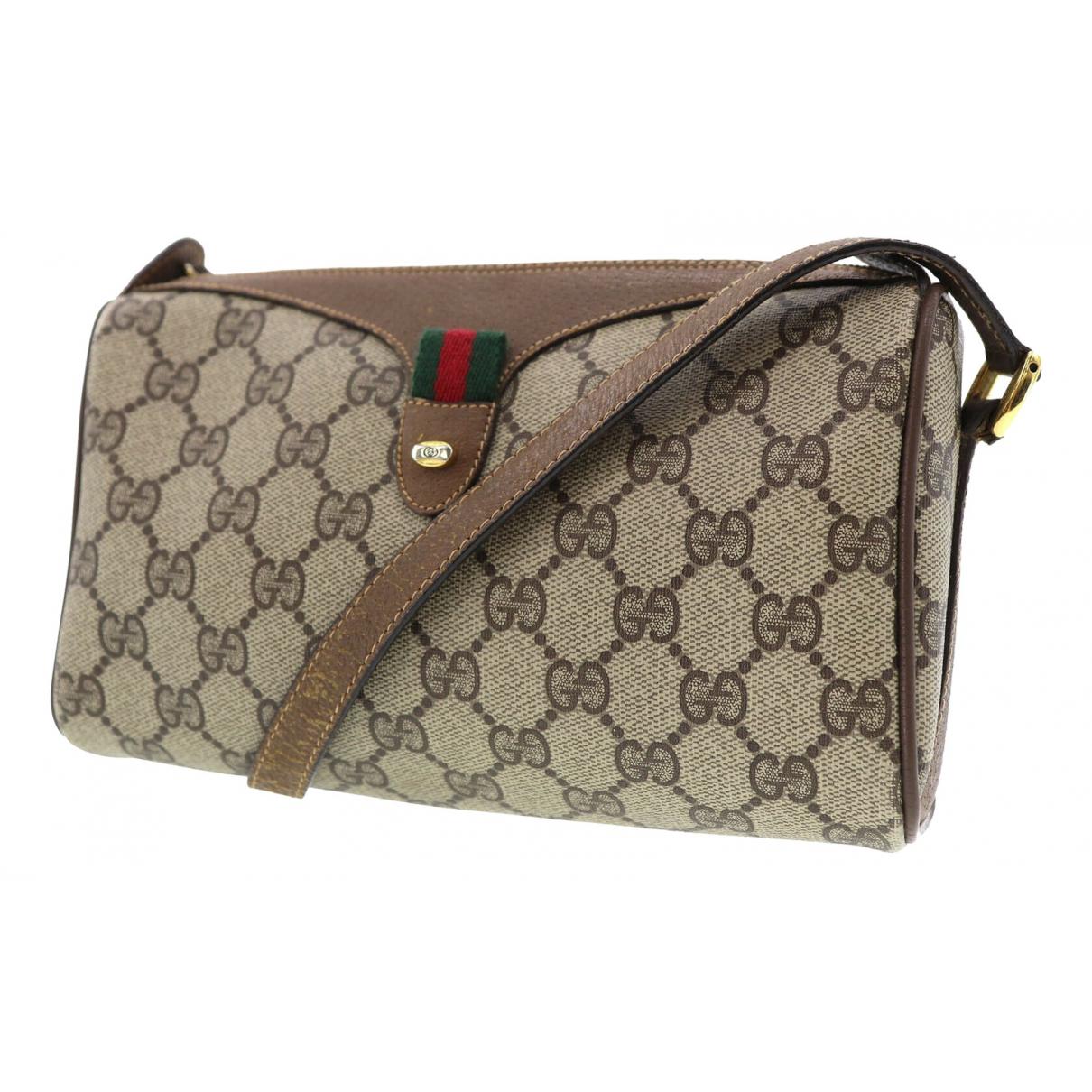 Gucci Ophidia Brown Cloth handbag for Women \N